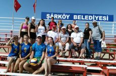 Фольклорный коллектив Дома Культуры и волейбольная команда мужчин и девочек ДЮСШа вернулись из Турции