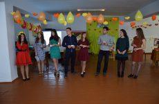 В лицее им. С.И. Бараноского состоялся осенний бал и торжественный приём десятиклассников в ряды лицеистов