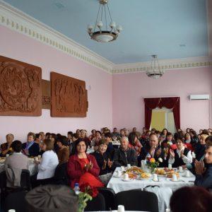 5 октября в здании Дома Культуры состоялся праздничный приём в честь Дня учителя