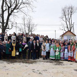 В Копчаке прошло официальное открытие запуска канализационной системы и очистных сооружений