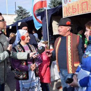 Копчакское подворье традиционно приняло участие в празднике вина в Болграде