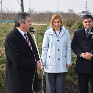 ВИДЕО: Церемония открытия очистных сооружений и канализационных сетей