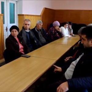 (ВИДЕО) В примэрии прошло совещание со всеми руководителями села по проекту о покупке грейдера в рамках программы MiDL
