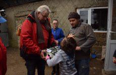 4 декабря в Копчак прибыла делегация гостей из благотворительного фонда «Round Table», Германии с рождественскими и новогодним подарками