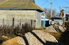 Благоустраивается участок улицы Суворова между Кутузова и Щусева, протяженностью 150 метров