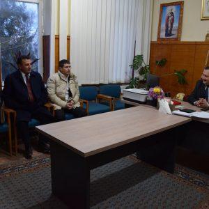 Примар встретился с делегацией из Турции района Алтындаа г. Анкара