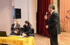 (ВИДЕО) В ДК состоялось заседание выходцев и жителей Копчака для обсуждения проекта по закупке грейдера