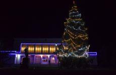 На главной ёлке Копчака зажглись праздничные огни