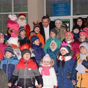 Поздравление примара Копчака Олега Гаризан с Новым 2018-м годом