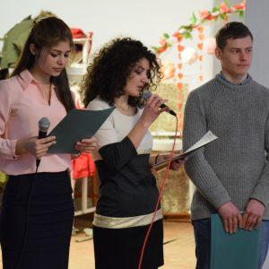 (ФОТОРЕПОРТАЖ) Праздничное мероприятие ко дню влюбленных провели ученики лицея им. С. И. Барановского