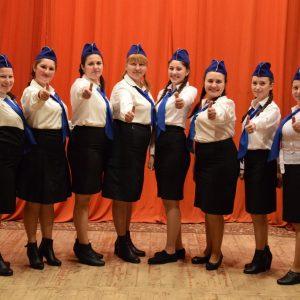 На сцене Дома Культуры состоялся праздничный концерт в честь дня защитника отечества