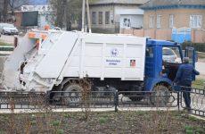 Мусоровоз и контейнеры для сбора мусора переданы Копчаку от города побратима Мустафакемальпаша