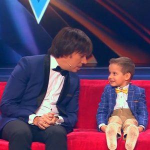 Четырехлетний Давид Копущу из семьи наших односельчан успешно угадывал мелодии на шоу Максима Галкина