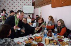 «Женщины весны» — женской половине села подарили праздничный вечер в преддверии 8-го марта
