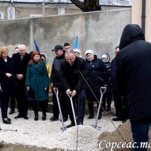 В Копчаке дан старт строительству спортивной площадки для молодежи