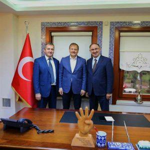 Примар Копчака Олег Гаризан встретился с вице-премьер министром Турции Хаканом Чавушоглу