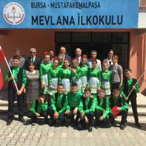 Младший состав танцевального коллектива «Чекиргя» выступил в Мустафакемальпаша на празднике детей