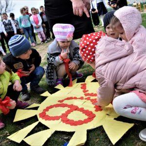 Детский сад «Ромашка» отметил праздник Светлой Пасхи концертно-развлекательной программой