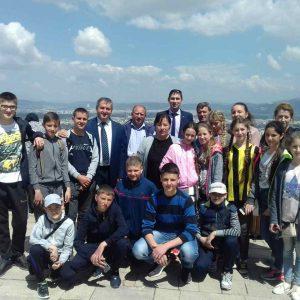 Первый день пребывания детского танцевального коллектива в Турции начался с экскурсий по музеям и архитектурным памятникам первой Османской столицы