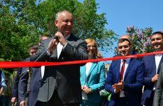 В Копчаке открыли спортивную площадку построенную под патронатом президента Игоря Додона