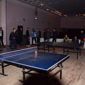 27 мая состоится турнир по настольному теннису в здании ДК. Начало в 10:00 ч.