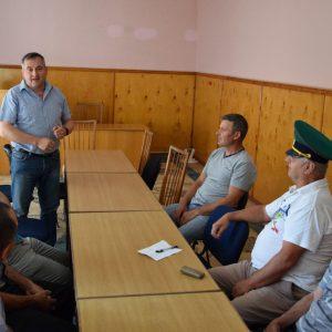 Примар поздравил ветеранов пограничных войск с. Копчак со 100-летием основания пограничных войск