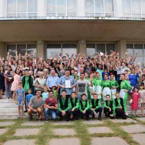В Копчаке волонтёров из Германии поблагодарили праздничным концертом «Дружбы»