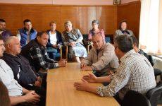 Примар обсудил с жителями улиц Молодежная, Павлова, Советская и Димитрова этапы начала благоустройства их дорог