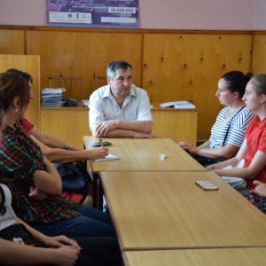 Примар провёл встречу с родителями и учениками лицеев обсудив детали поездки лицеистов в Беларусь