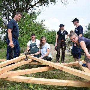 Волонтеры из Германии осуществляют ряд благотворительных работ на социальных объектах села