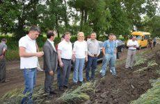 Башкан Гагаузии Ирина Влах совершила плановый объезд полей в Копчаке