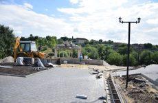Строящийся парк в Копчаке с каждым днём становится всё ближе к приобретению своего итогового облика