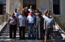 Делегация Гагаузии по пути на гору Афон посетили гагаузский городок «Неа-Зихни» в Греции
