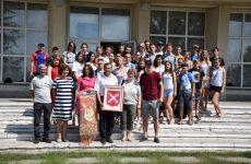 Более 20 ребят из Белоруссии находятся в Копчаке с ответным визитом