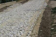 Завершается строительство улицы Гагарина в белом варианте