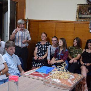 Делегация учеников лицеев находившаяся в Белоруссии с туристическим визитом вернулась в Копчак