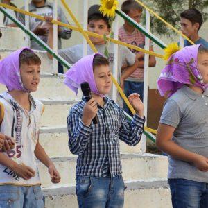 В воскресенье в лагере «Сокол» праздничным концертом открыли первую смену отдыха