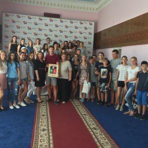 Окончен дружеский визит белорусских ребят в село Копчак