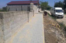Примэрия завершила строительство очередной тротуарной дорожки в селе Копчак