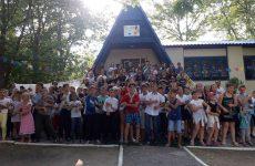 2 августа состоялось торжественное закрытие сезона лагеря Сокол