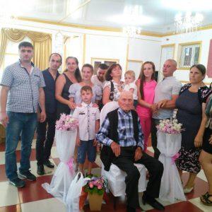 Самый старший житель села Копчак Коджебаш Афанасий Иванович, 5 августа отметил свое столетие