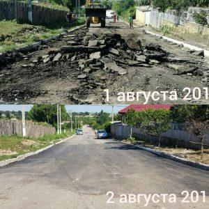 (ФОТО): В селе Копчак продолжается восстановление дорог после ливневых дождей