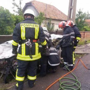 Жители Копчака на территории Румынии попали в ДТП