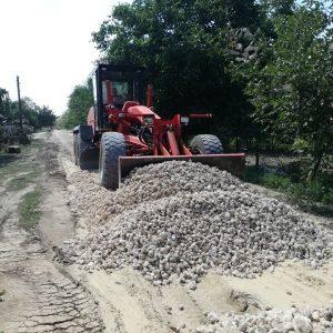 Завершается строительство дороги в «белом варианте» по улице Советская