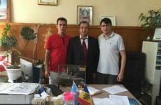 Представители мэрии турецкого города Мерсин обсудили с Олегом Гаризан планы дальнейшего сотрудничества между Копчаком и Мерсин