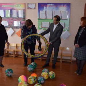 Депутат Парламента Молдовы Фёдор Гагауз вручил подарки детским садам Копчака  в рамках национальной программы «Din suflet»