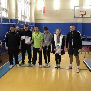 Копчак занял первое место в чемпионате Гагаузии по настольному теннису