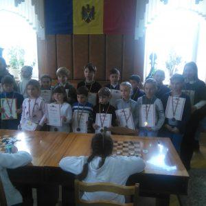 Учащиеся ДЮСШ с. Копчак приняли участие в турнире «Кубка Молдовы» по шашкам среди детей