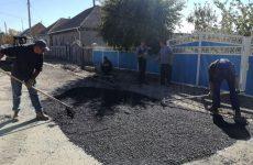 Благоустроена дорога части улицы Чапаева и 8 марта