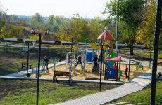 Олег Гаризан ознакомил руководство TİKA в Молдове с ходом строительных работ центрального парка в Копчаке